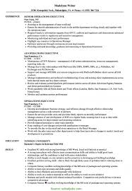 Operations Executive Resume Examples Complex Operation Executive Resume Sample Operations Executive 2