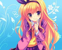anime 2560x2048 anime anime s mm blonde long hair isurugi mio green eyes