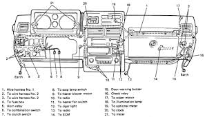 1990 suzuki sidekick fuse box diagram 1990 wiring diagrams
