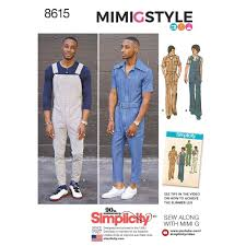 Simplicity Jumpsuit Pattern Awesome Mens Vintage Jumpsuit And Overalls Simplicity Sewing Pattern 48