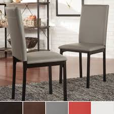 Darcy Espresso Metal Upholstered Dining Chair by INSPIRE Q (Set of 2) by  INSPIRE Q