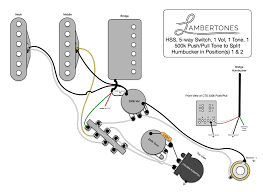Wiring Diagrams For Split Humbuckers 1 Volume 1 Tone