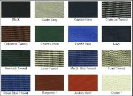 Sunbrella Canvas Awning Colors Fabric Color Chart Red