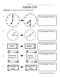 Telling Time Worksheets | Have Fun Teaching