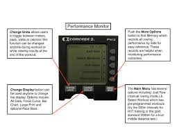 Rowing Machine Pace Chart Indoor Rowing Part 1 Set Up And Basic Guidelines