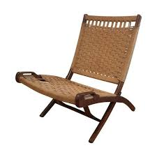 vintage hans wegner yugoslavian style chair with walnut legs