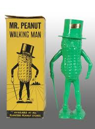 Mr Peanut Vending Machine Enchanting Plastic Planters Peanut Mr Peanut WindUp Walker