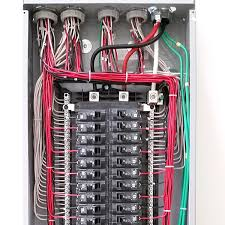 electrical service panel installation facbooik com Wiring A Homeline Service Panel wiring a homeline service panel on wiring images free download Electrical Wiring Main Service Panel