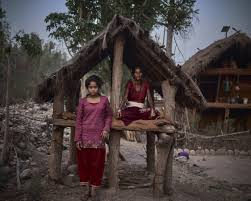 In Nepal A Monthly Exile For Women The New York Times