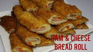 Ham And Cheese Bread Roll Youtube