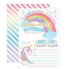 Amazon Your Main Event Prints Unicorn Birthday Invitation Amazing Birthday Invitation Pictures