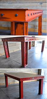 industrial furniture table. Brilliant Table The Firehouse Table By Vintage Industrial Furniture In Phoenix Arizona With Table