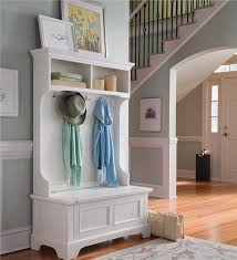 Main image for Naples Hall Stand Entryway Coat Rack And Storage Bench