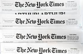 Image result for caricature new york times