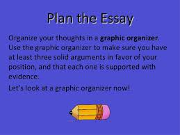th grade writing strategies class persuasive writing 10 plan the essay