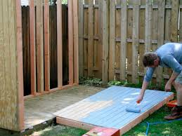 build a storage shed for garden tools