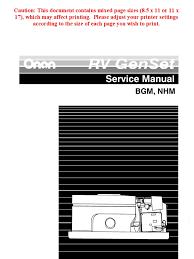 onan bgd nhd service manual beginspec h pg 1 50 onan service manual 965 0531b