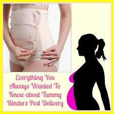 tummy binders post pregnancy to lose