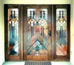 stain glass insert stained glass doors inserts leaded front door stain unbelievable home insert p stained stain glass insert oval door