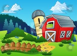 farm barn clip art. Farm Barn Fence Clipart Clip Art D