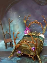 furniture fairy. Fairy Bed (this Has To Be One Of The Best Designed Twig Furniture Pieces I Have Seen,,,,puts Mine Wall Shame) - Beautiful! E
