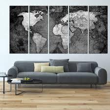 world map canvas art print old vintage world map wall art larg on world map wall art canvas with best white world map wall art products on wanelo