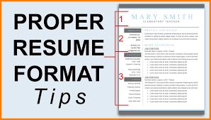 Resume Format 2018 Download Proper Resume Format Haadyaooverbayresort within Resume 23