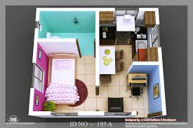 D Isometric View Design Small House Plans Pictures Single Bedroom 3d Gallery