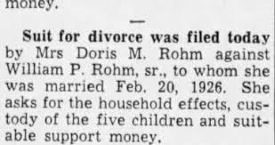 Doris Carlson; William Rohm - Newspapers.com
