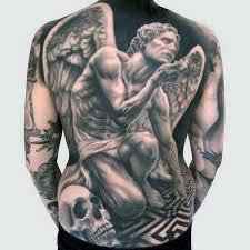 120 Full Back Tetování Pro Muže Mužské Inkoustové Vzory