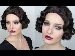 vine inspired great gatsby makeup