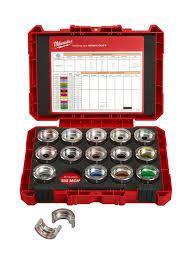 Burndy Crimp Die Size Chart Utility Tools Milwaukee Tool Simplifies The Die Selection