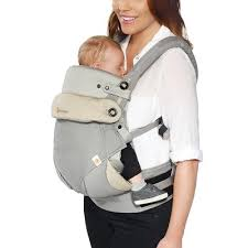 Ergobaby 360 All Carry Positions Ergonomic Baby Carrier with Bundle ...