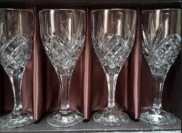 crystal wine goblets 4 beautiful luxury lead crystal wine glasses