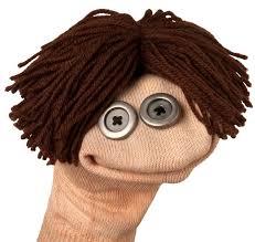 Resultado de imagem para sock puppet