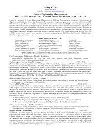 Engineering Engineering Management Resume