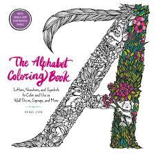 Coloring book pages alphabet symbols exclamation mark and question mark. The Alphabet Coloring Book Harpercollins