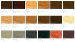 Furniture Stain Colors Chart Colorful Wood Stains Dunndigital Co