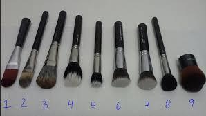 mac liquid foundation brush. image. 1/ body shop foundation brush 2/ mac 190 mac liquid n