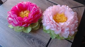 how to make tissue paper flower super easy method decoration