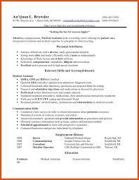 Medical Assistant Resume Objectives 100100 Medical Assistant Resume Objective Titleletter 79