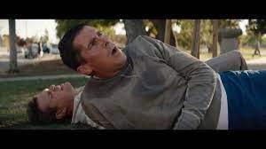 Ford V Ferrari Fight Scene Christian Bale And Matt Damon 1080pfhr Youtube