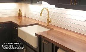 gorgeous wood countertop countertop wood countertops cost vs granite