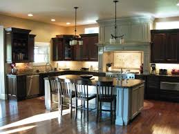 Image of: Two Tone Cabinets Kitchen