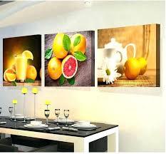 fruit wall decor kitchen kitchen fruit decor 3 panels paintings for the kitchen fruit wall decor