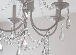 diy crystal chandelier easy tutorial chandeliers crystals and