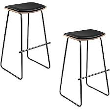 kondi bar stool black set of 2