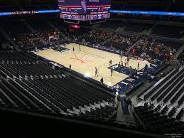 Uva Basketball Seating Chart John Paul Jones Arena Section 311 Rateyourseats Com