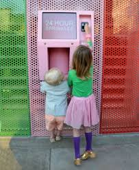 Cupcake Vending Machine Beverly Hills Stunning Sprinkles Cupcake ATM Beverly Hills This Is For Real Hey Bri