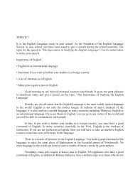 Example Of Essay Speech – Resume Sample Collection